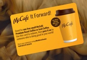 McDonald's launching 'McCafé It Forward' with three-day pay-it-forward giveaway