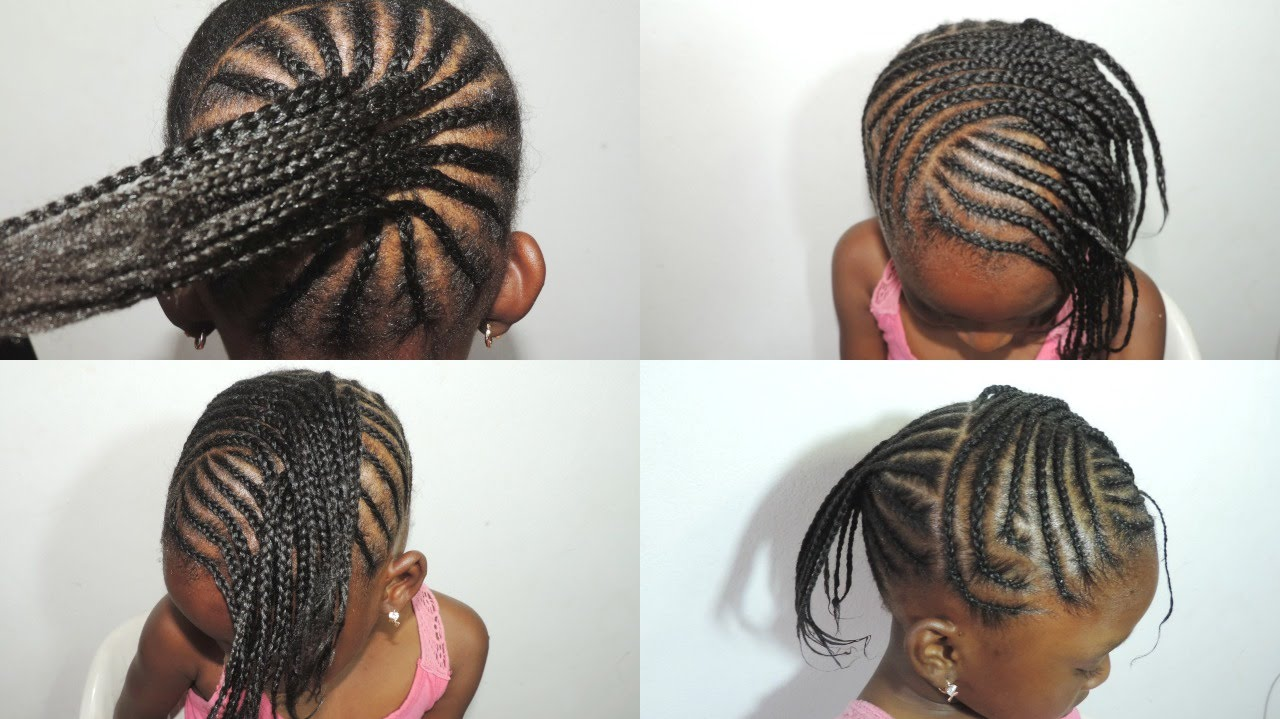 Lightweight Braided Hairstyles For Little Black Princesses 2018 国际