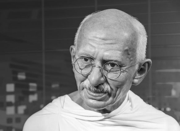 Gandhi Is A Man That Needs No Introduction. A Man That Changed A Nation And  Changed The World With His Compassion, Vision, Tolerance And Patience.