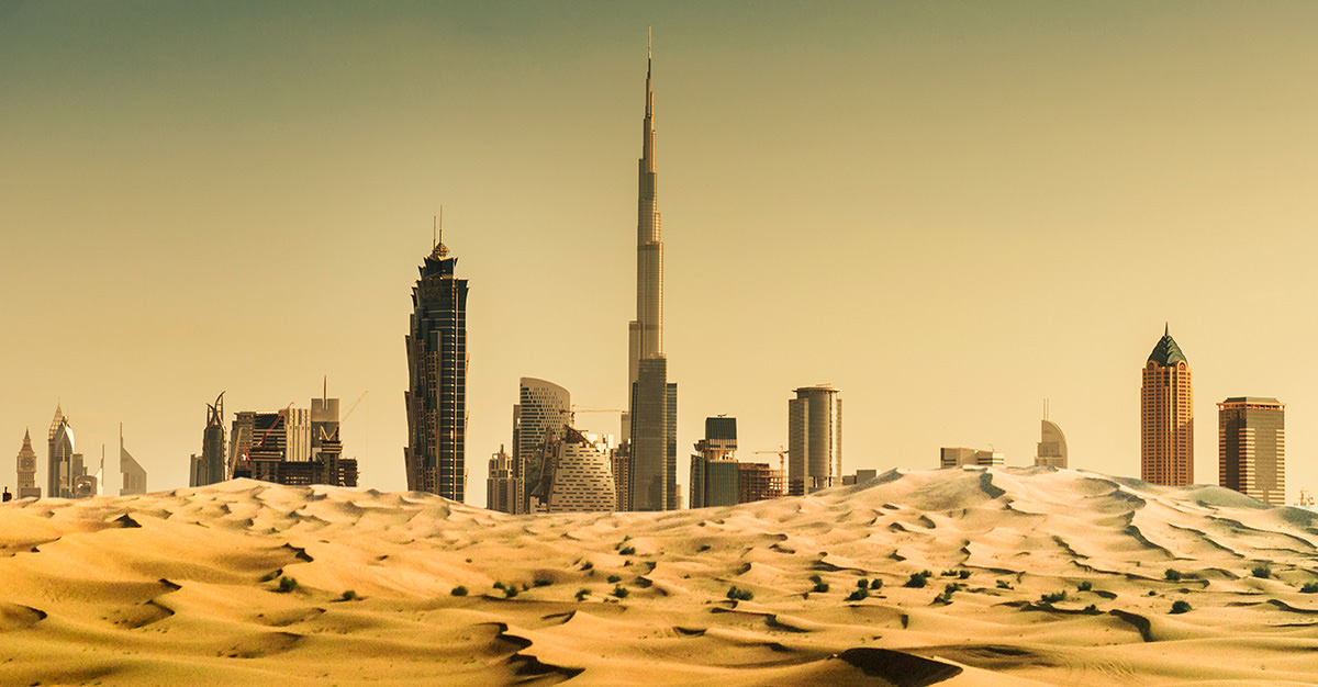 United Arab Emirates - Travel to Fairy Tale Country_国际_蛋蛋赞