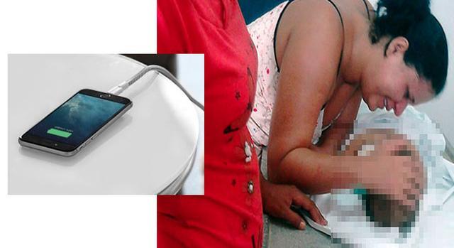 Bebê de 7 meses morreu eletrocutado ao colocar fio de carregador do celular na boca · Mae.Tips
