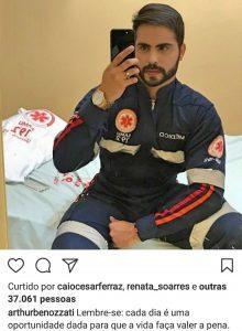 Médico sousense posta foto em sua rede social, viraliza em poucos dias e número de curtidas e compartilhamentos surpreende o jovem. Confira!