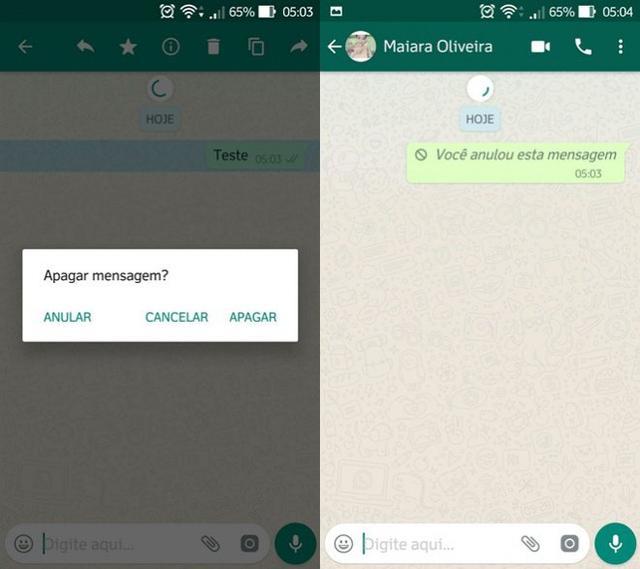 Finalmente! WhatsApp ganha função de bloquear mensagens enviadas