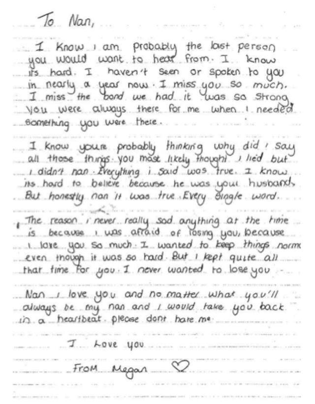 This Heartbreaking Letter of a Teen Raped By Her Grandfather Will Make You Cry!