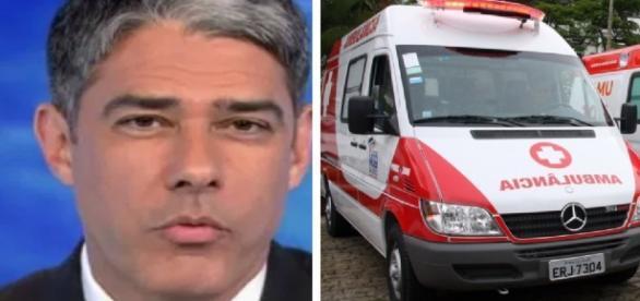 William Bonner sofre grave acidente e é afastado do 'Jornal Nacional'