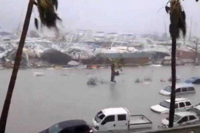 A devastação do poderoso furacão Irma em imagens