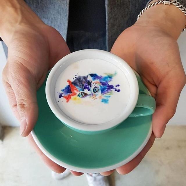 15 artes incríveis feitas em café