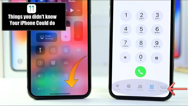 iPhone Tricks You Didn't Know exist iOS 11.3