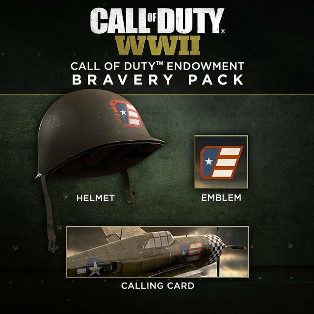 Le Pack De Bravoure Call Of Duty TM CODE Comprend Un Casque Jeu Endowment Une Carte Visite Et Emblme