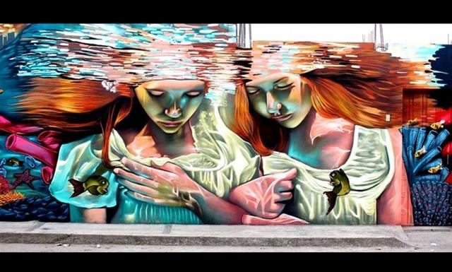 5 artes urbanas que vão te levar para outra dimensão