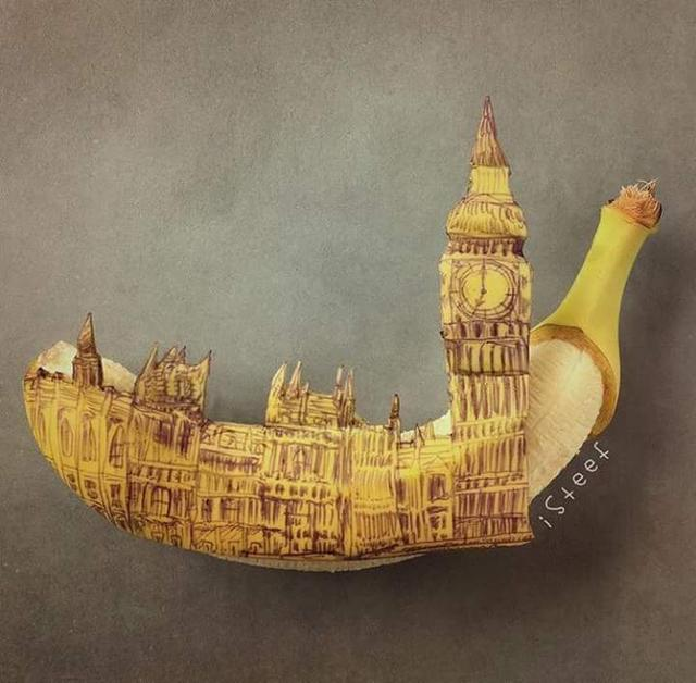 Incredible Unique Bananas Art by Stephan Brusche.