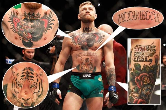 15 Combattants Mma Avec Les Tatouages Les Plus Dingues Que