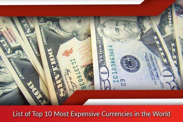 Liste Des 10 Devises Les Plus Cheres Au Monde Fantastique Tb Economie