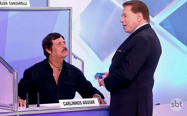 Carlinhos Aguiar  recontratado pelo SBT Ele abriu a porta de novo