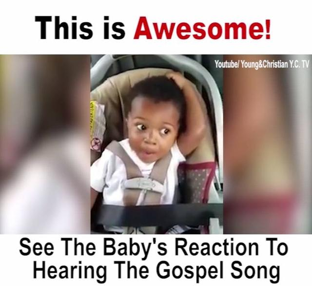 Cute Baby Singing Gospel Song Just Like Singer!