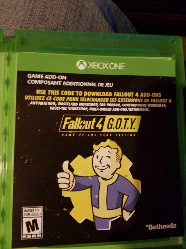 Le disque GOTY de Fallout 4 ne contient PAS de DLC – TB Jeu