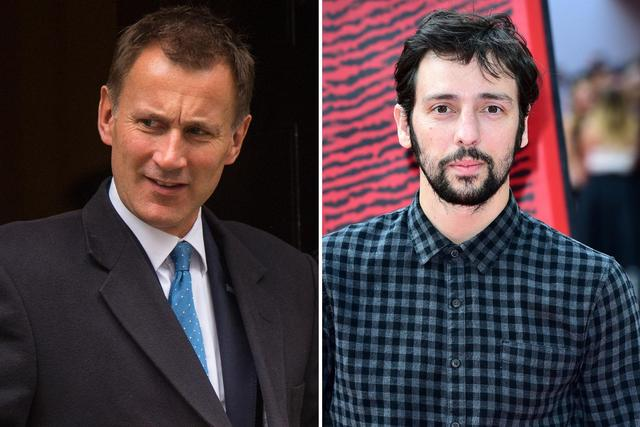 Jeremy Hunt invited to People's Assembly NHS protest by actor Ralf Little after bizarre Twitter spat