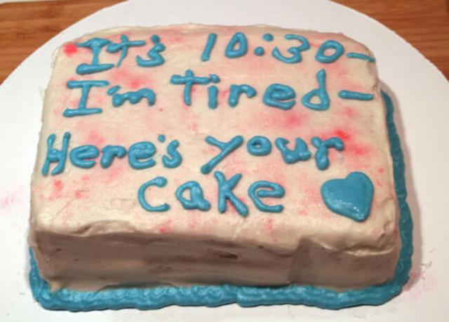 Brilliant These Cake Messages Are Wrong In So Many Ways Funny Birthday Cards Online Sheoxdamsfinfo