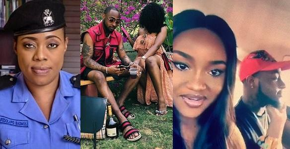 005ad7ef00e080a7da16 - PRO of police(  Dolapo Badmus ) shames Davido's baby mamas, as she explains how Chioma won Davido's heart,  Read More