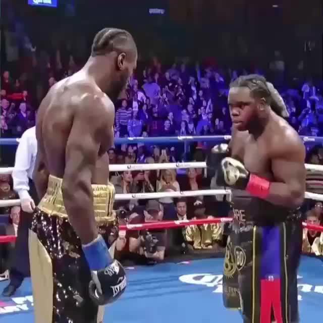 Bermane Stiverne vs. Deontay the night stiverne got pounded .