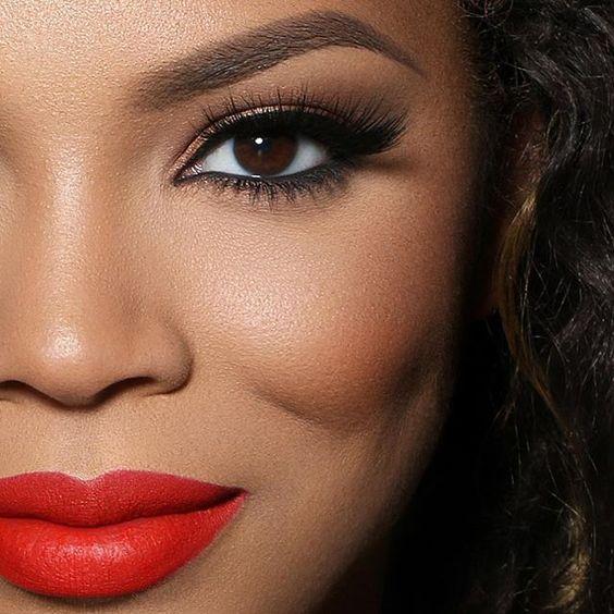 Image result for black woman eyes make up