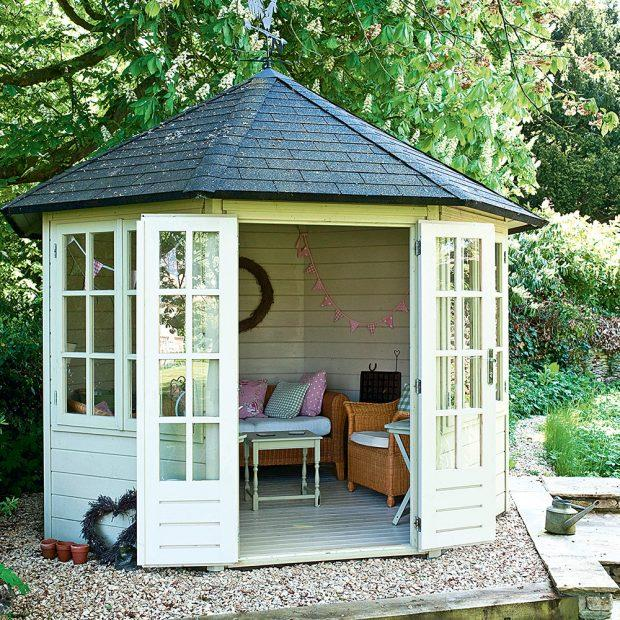 Summer House Ideas to Inspire You to Create the Garden
