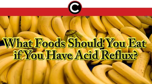 eat when you have acid reflux
