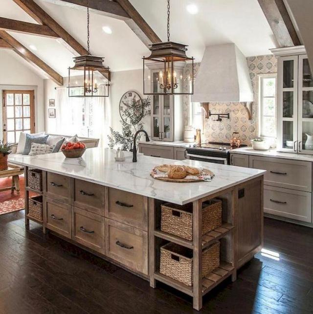 Rustic Modern Farmhouse Kitchen Design Ideas 25 Photos