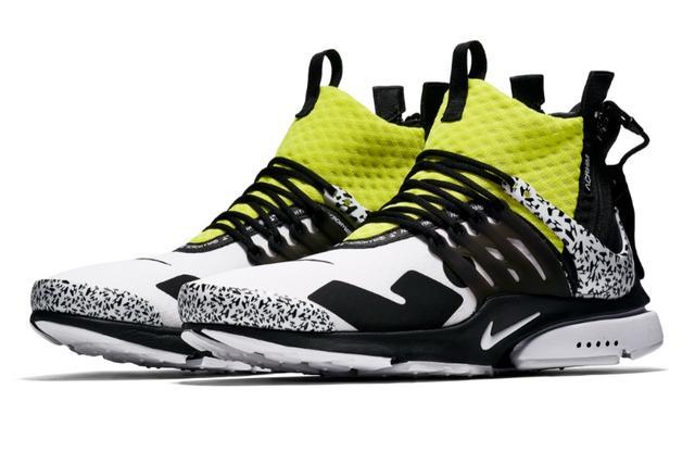 ACRONYM x Nike Air Presto réinvente le motif camouflage – TB