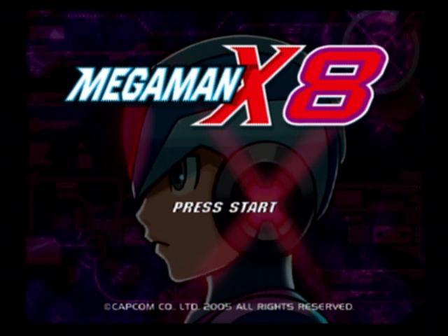 jeux megaman x8