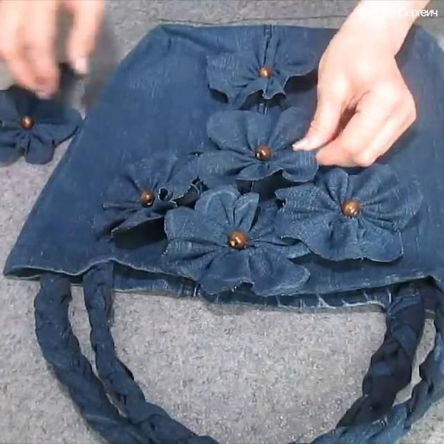 Topbuzz Viral Videos News By Topbuzz: Sewing A Bag From Old Jeans
