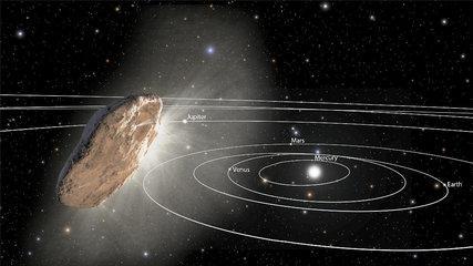 Oumuamua la NASA publica lo QUE SÍ SABEN y lo QUE NO SABEN los científicos del objeto interestelar