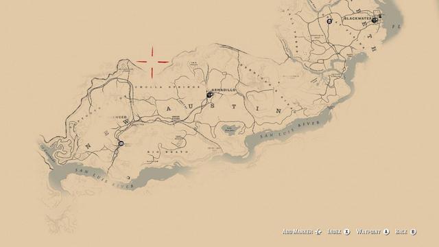 Red Dead Redemption 2 Legendare Tiere Karte.Warum Ist Die Ursprungliche Red Dead Redemption Karte In