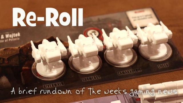 Re Roll Noticias Del Juego De Mesa De Esta Semana Para La Semana 45