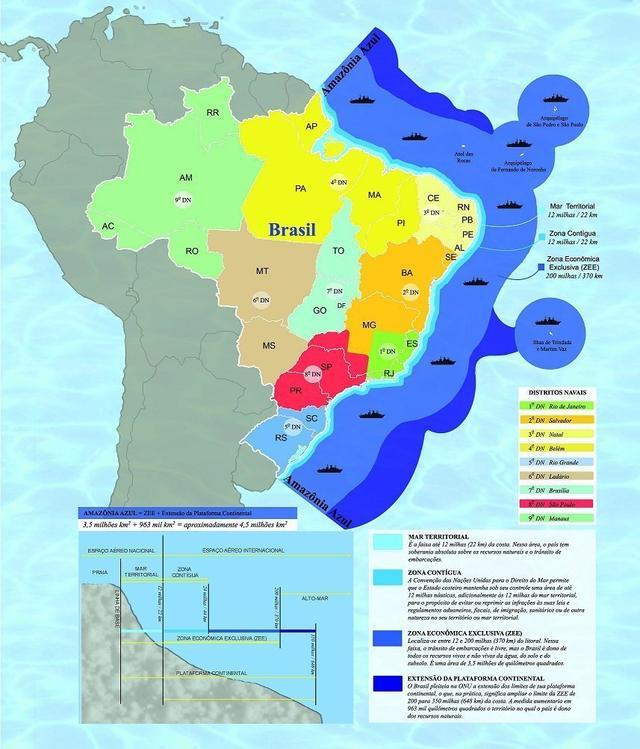 O Brasil tem poder de fogo para proteger a Riqueza da Amazônia Azul?