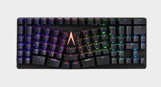 Ergonomic typists now have a tenkeyless mechanical keyboard option
