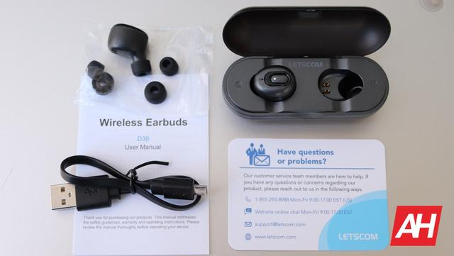 Letscom D39 True Wireless Earbuds Review - Affordable Wire-Free Listening