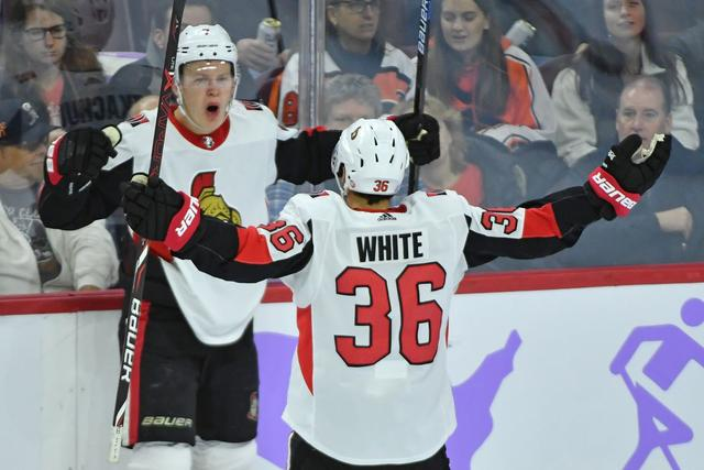 Sens Best Flyers 4-3 in Wild Affair
