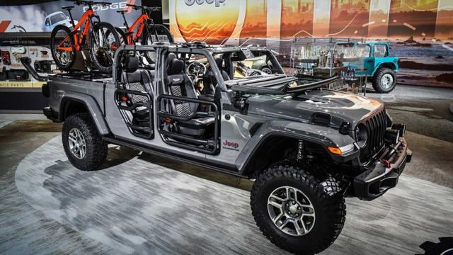 2020 Jeep Gladiator Overtakes Wrangler In Accessory Sales