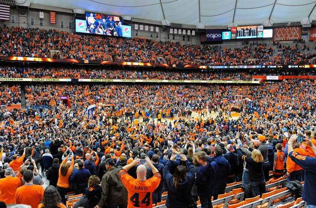 Good Luck Trying To Beat Syracuse In The Carrier Dome This