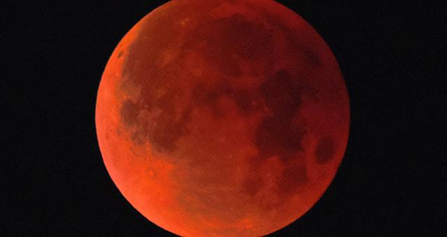 O que 'Superlua de sangue de lobo' tem a ver com Armagedom terrível?