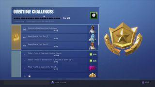Free Overtime Challenges Fortnite Location