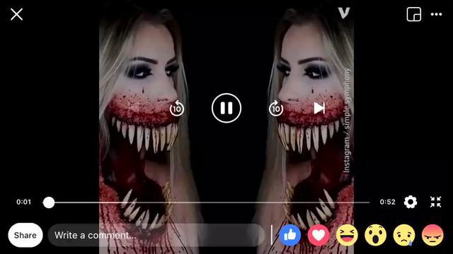 Makeup Chick Chills to the Bone