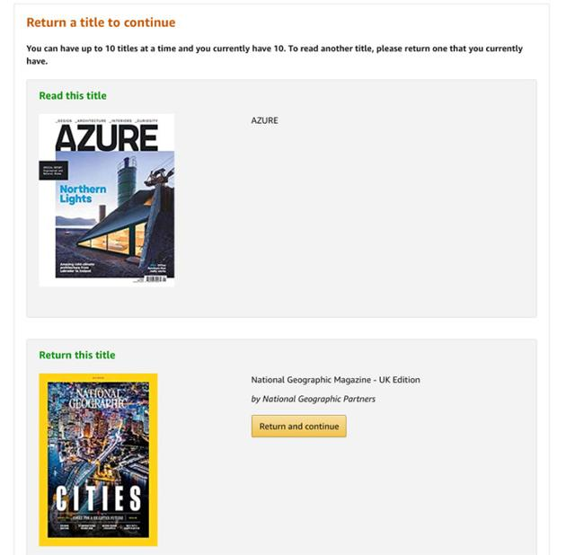Comparing Apple News+ head-to-head, versus Amazon Kindle Magazines