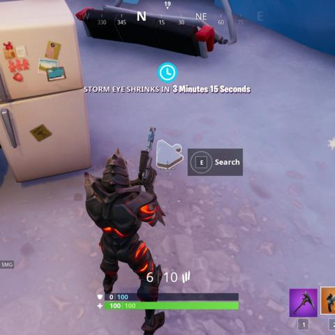 fortnite where to search jigsaw puzzle pieces week 8 challenge guide gaming - search jigsaw puzzle fortnite