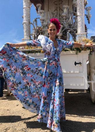 e8175cec7 El Rocío 2019: Así se visten de flamenca las famosas e influencers