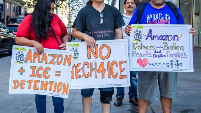 Whole Foods employees want Amazon to sever ties with ICE