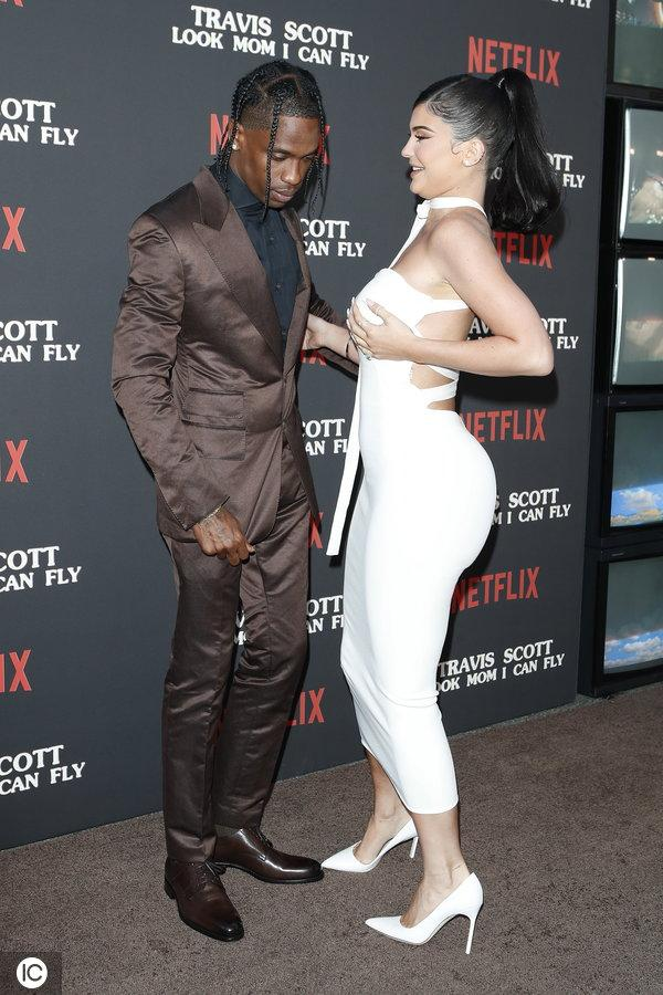 Premiere of Netflix' Travis Scott: Look Mom I Can Fly_国际_