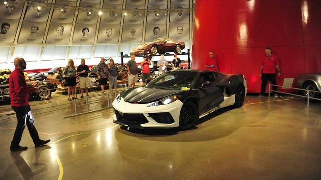 National Corvette Museum >> National Corvette Museum Takes Delivery Of C8 Prototype 国际