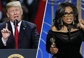 Shocking! Donald Trump Hopes Oprah Will Run for President So She Can Be ''Exposed and Defeated''